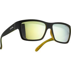 Alpina Kacey Glasses black matt-neon/gold mirror